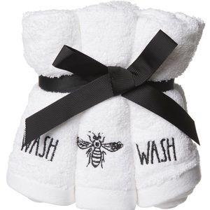 RAE DUNN     WASH 🐝 Washcloths